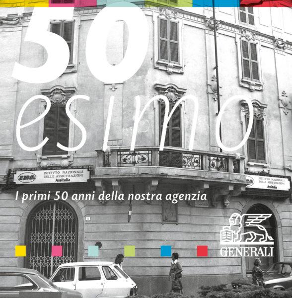 50esimo. Iprimi 50 anni della nostra agenzia - copertina