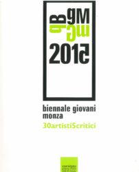 Biennale giovani Monza - copertina - scansione