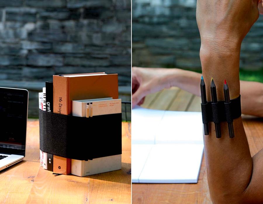 portalibri da tavolo e porta matite Animagrigia